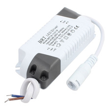 8-12 x 1W DC Female Connector Advanced Plastic Shell LED Driver Power Supply(China)