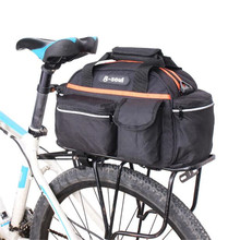 Buy 15L Cycling Bicycle Bike Bag Rear Seat Rack Back Rear Seat Trunk Bag MTB Bike Bicycle Accessories Bags Luggage Carrier for $15.08 in AliExpress store