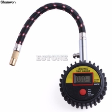 300 PSI Digital LCD Tire Tyre Air Pressure Gauge For Motorcycle Car Truck Bike(China)