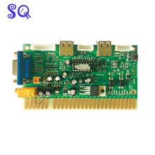 Arcade PS3 timer control board use the JAMMA button & Joystick by timer mode for VGA arcade game machine LCD monitor cabinet(China)