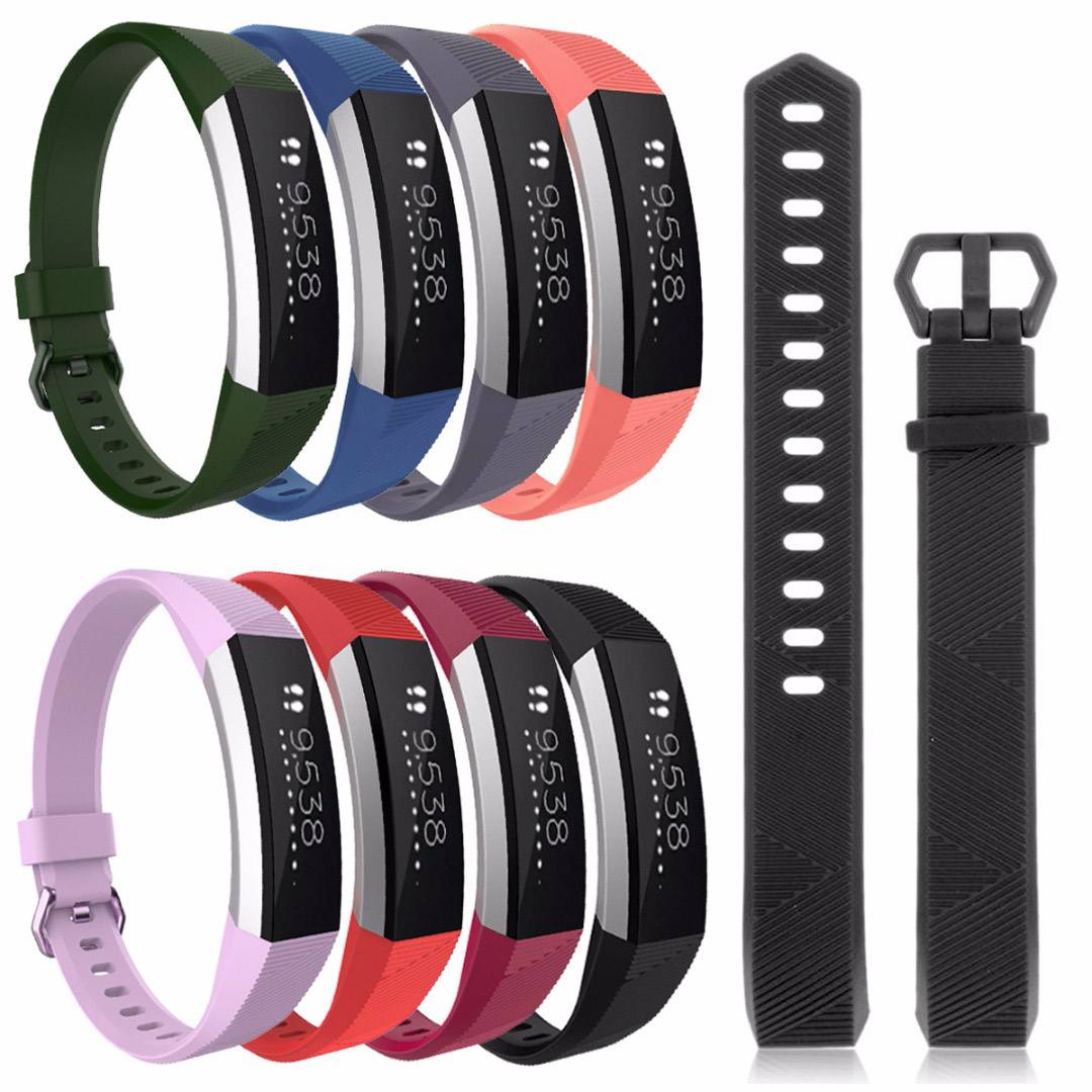 Wristband Wrist Strap Sport Bracelet Belt Replacement Fitness Smartband Bracelet For Fitbit Alta HR Band Strap Watch