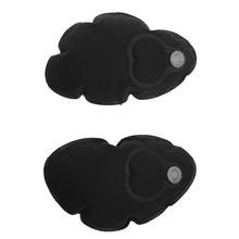 Womens Black Inflatable Bra Pad Inserts Chest Brest Cups Cozy Pads For Swimsuit Bikini(China)