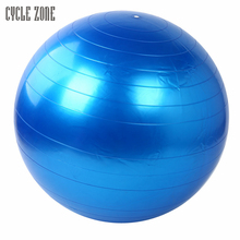 7 Colors High Quality 55cm Exercise Fitness GYM Smooth Yoga Ball Pilates Balance Sport Fitball Proof Fitness Training Dec5(China)