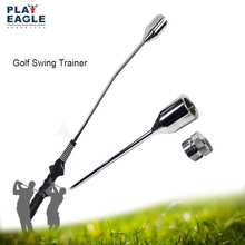 Golf Swing Grip Trainer Stick Practice Club Golf Training Aids Warm Up Adjustable Weight Rod With Grip