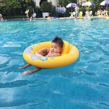 Inflatable Rubber Ring For Swimming Horn Seat Float Swimming Pool Accessories Cute Swim Ring Baby Swimming Driving Equipment(China)