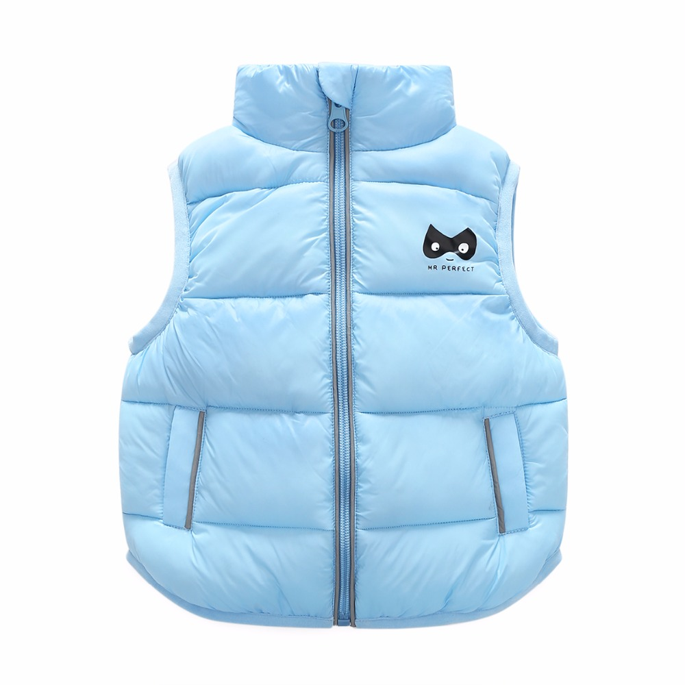 6 Bibihou 2017 Winter Kids Waistcoats children clothes Vest Warm Coat Infant sleeveless Jacket Cotton Kid Clothe Boy Girl Outwear