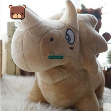 Dorimytrader 31'' / 80cm Triceratops Stuffed Soft Plush Giant  Animal Triceratops Dinosaur Toy Baby Gift Free Shipping DY60903