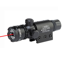 5mW Tactical Red Laser Designator Hunting Dot Sight With High Bright Red Laser Beam 21mm Rail Mount And Tail Line Switch.