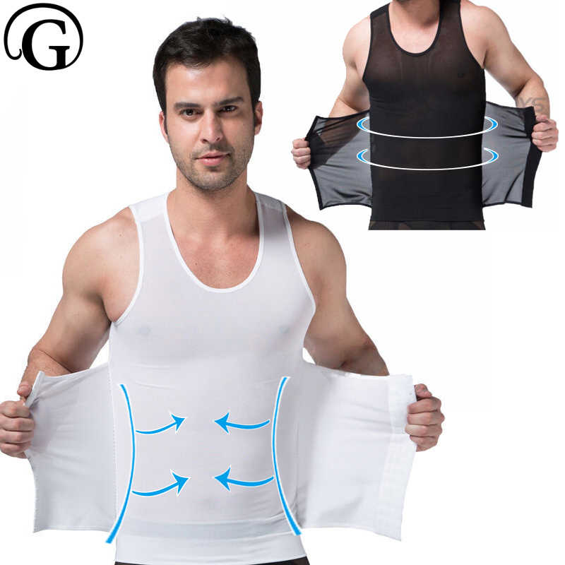 af01ecd89 Detail Feedback Questions about PRAYGER Gynecomastia Control Body Shaper Men  Compression Touch Abdomen Corset Tops Slimming Belly Girdle Underwear Hook  ...