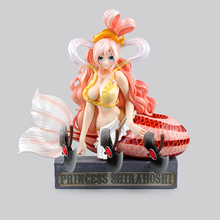 H.O.O.K.DX Anime One Piece Princess Shirahoshi Smilever. Cute Girl PVC Action Figure Resin Collection Model Toy Gifts Cosplay