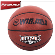 2015 Winmax New Arrival Free Shipping Professional High Quality PU Leather  Basketball Ball for Man