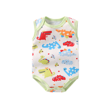 1873f9e38 3pcs/lot Baby Rompers Unisex Sleeveless Baby Onesies Baby Clothes Girl Boy  Baby Rompertjes Katoen