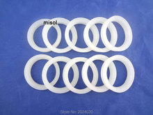 100 pcs of white silicon sealing ring sealing loop for vacuum tube 47mm, for solar water heater(China)