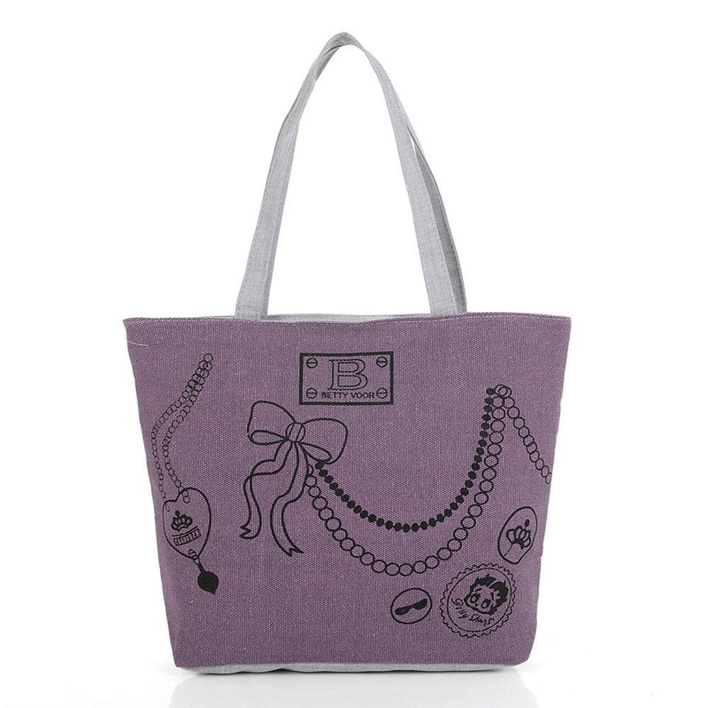 2016 hot sale women bag Girl Canvas Shoulder Bag Hand bag Tote Shopping Canvas Handbags zipper bolsas free shipping Wholesale<br><br>Aliexpress