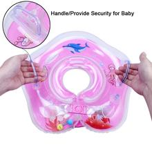 1PCS Swimming Inflatable Baby Boat Conformation Baby Neck Float Infant Swimming Pool Neck Circle Foat Ring Baby Tube Ring Bath(China)