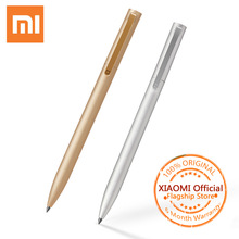 Buy Original Xiaomi Mijia Sign Pens 9.5mm Metal Signing Pens Original Mijia Office & School Pens Supplies add Mijia Pens Black Refil for $2.95 in AliExpress store