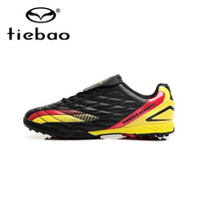 Tiebao Professional National Flag Soccer Shoes TF Turf Sole Football Boots Men Athletic Training Soccer Cleats botines de futbol