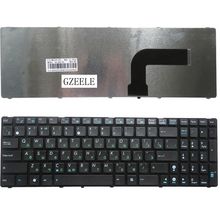 Russia NEW Keyboard FOR ASUS N61 N50 N51 N60 X61S U50 K55D G60 F50S U53 P53 K52N K52 G51 K53E k53 RU With border laptop keyboard