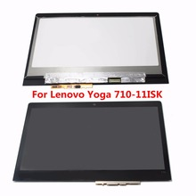 "11.6"" LED EDGE IPS LCD Display Digitizer Touch Screen Glass Panel Assembly For Lenovo Yoga 710-11ISK 80TX N116HSE-EBC B116HAN05(China)"