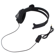 Broadcaster Live Gaming Headset Headphone MIC Volume Control for PS4 One Side #52670(China)
