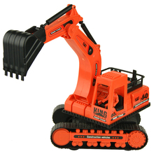 High Quality Kids Toy Car Cheap Plastic Toys Crane Tipcart Children Toy Piece Excavator Toys Cars Models Christmas Birthday Gift