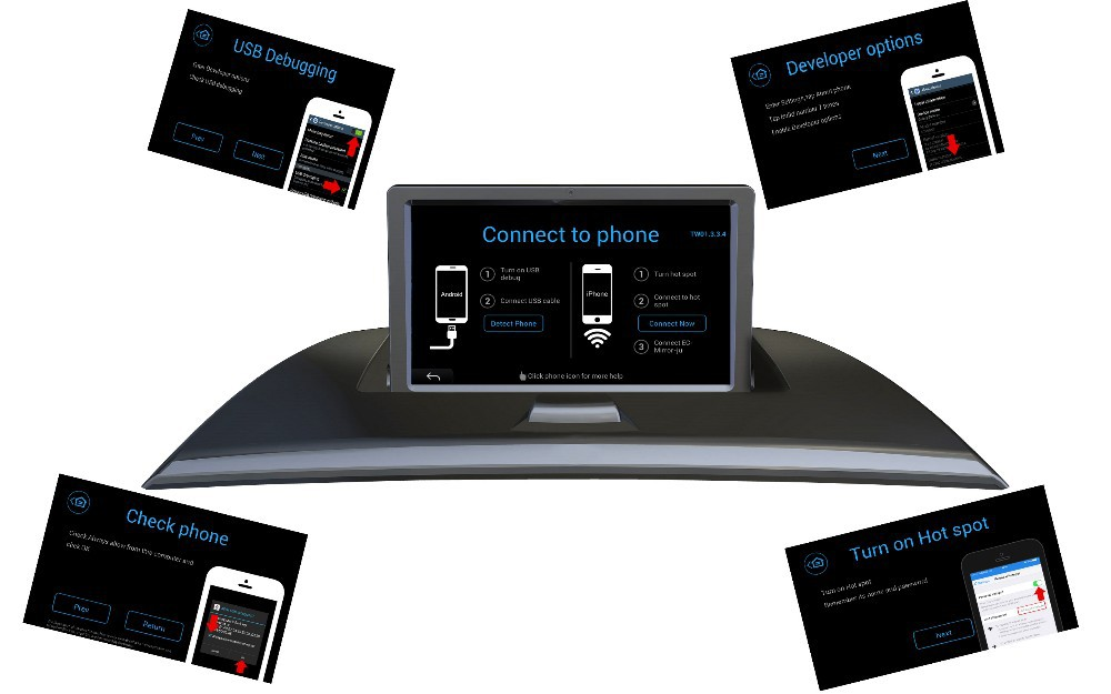 BMW X3 E83 (2004-2010) Smart Phone