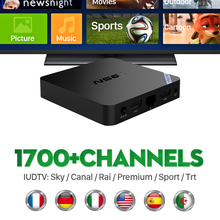 T95N Android 6.0 IPTV TV Set Top Box Italy UK European Arabic Spain Portugal Turkish Netherlands IUDTV Subscription Media Player