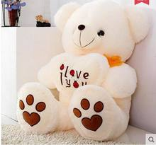 Free shipping Hight qualit  60cm.82cm.105cm Giant Huge Big Soft Plush  Teddy Bear Halloween Christmas Gift Valentine's Day Gifts