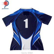Customize Your Team Sublimated Rugby Jerseys with Personal Numbers names(China)