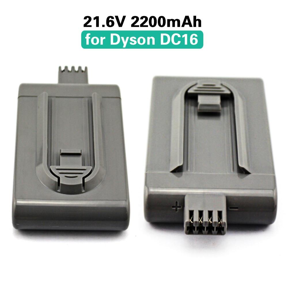 2pcs 21.6v 2200mah handheld vacuum cleaner cordless rechargeable li