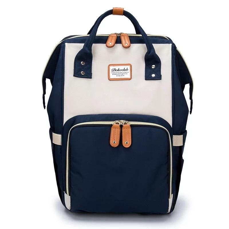 New Upgraded Fashion Mummy Maternity Nappy Bag Large Capacity Baby Bag Travel Backpack Designer Nursing Bag Baby Care<br>