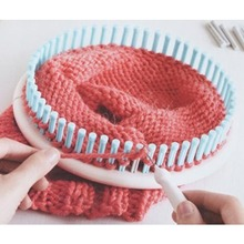 High Quality Blue Round Circle Hat 14CM Classical Knitter Knifty Knitting Knit Loom Kit for Home Sewing Handmade Accessories