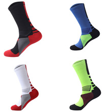 4 Pairs Sport Socks Cotton Outdoor Athletic Sock for Professional Basketball Football Sports Socks for Men and Women
