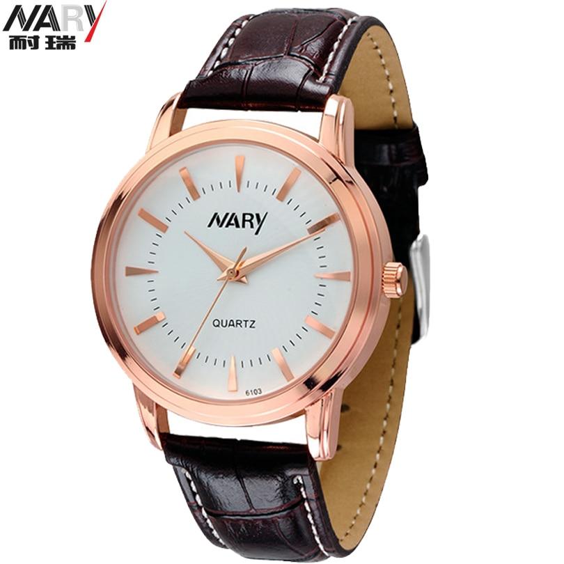 NARY New Design Brand Watch Simplicity Classic Wrist Watch Fashion Casual Quartz Wristwatch High Quality Women Watches Men Clock<br><br>Aliexpress