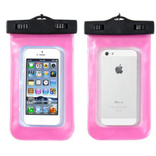 Trendy Waterproof Dry Bag Underwater Diving Case Cover For iphone 5 for Samsung(China)