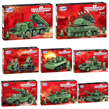 Winner Century Military Jeep All kinds of combat vehicles tank Building Block WW2 Classic Military Vehicle Compatible with Legoe