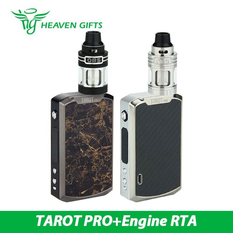 Original OBS engine RTA w/ 160w Vaporesso TAROT PRO Mod E-cig Kit vs only TAROT PRO VTC Mod <br><br>Aliexpress
