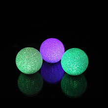 Lovely Color Changing Crystal Ball LED Night Light Lamp Magic Battery for Christmas Gift Room Home Wedding Decororations