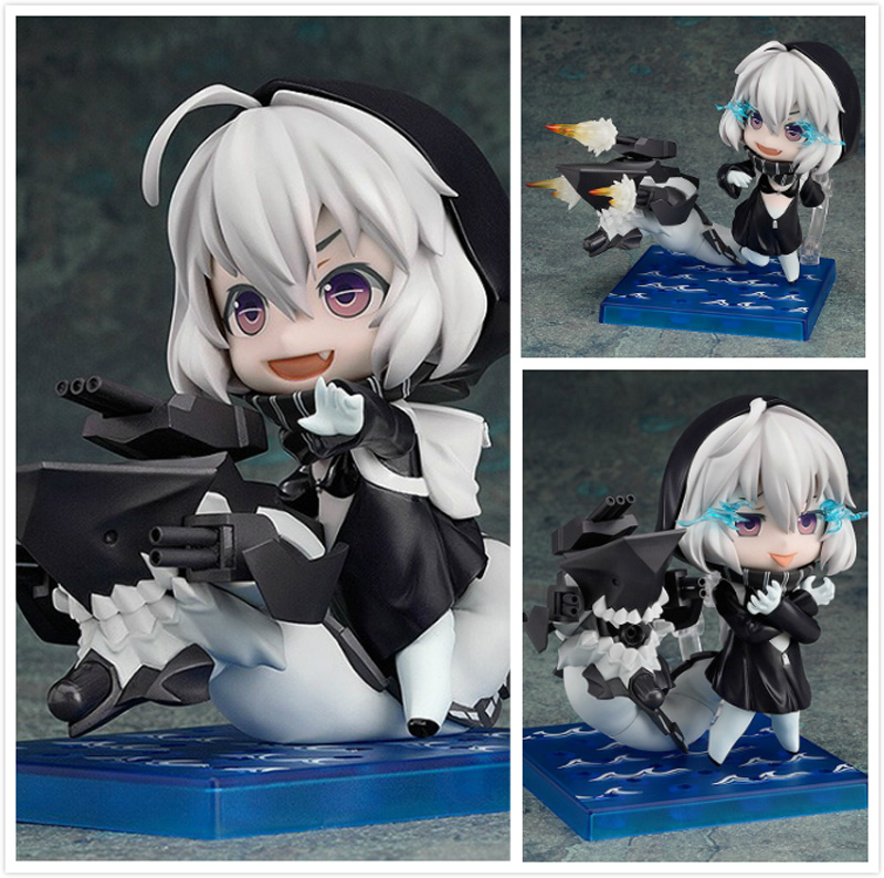 Cute 4 10cm Nendoroid Kantai Collection Battleship Re-class #494 PVC Action Figure Model Collectible Toy Doll KT1990<br><br>Aliexpress