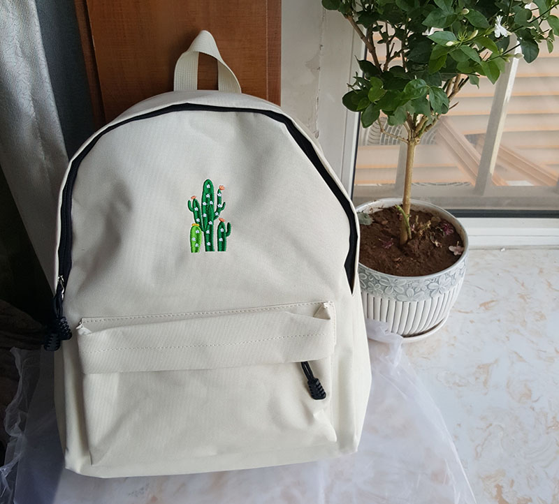 canvas school bag backpack (5)