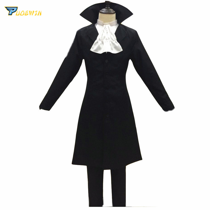 Anime Bungo Stray Dogs Chuya Nakahara Ryunosuke Akutagawa Cosplay Costume Halloween Carnival Cosplay Costume For Adult Men Women