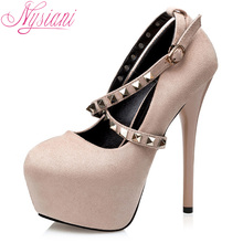 Nysiani Gladiator Pointed Toe Heels Shallow Mouth Fashion Party Sexy High Heels Dress Shoes Women Buckle Strap Women Pumps 2017