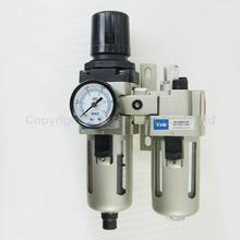 Industrial Air Filter Moisture Water Trap Pneumatic Tools Oil Lubricator AC3010-03D