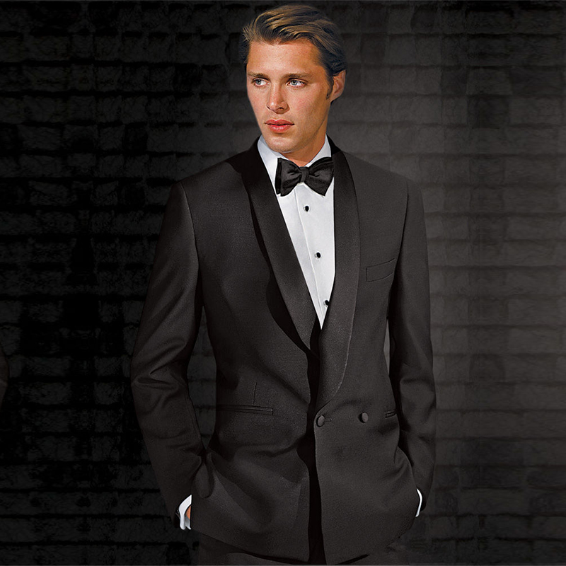 Modern design fashion groom leisure suit/fitted to the groom's best man wedding custom (coat + pants + tie)