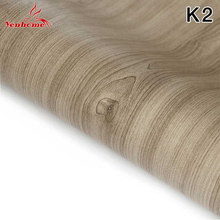 5M/10M Wood Grain Cupboard Room Shelf Kitchen Cabinet Countertop PVC Self Adhesive Wallpaper Boeing Film Furniture Wall Stickers(China)