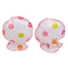 1 Pair Newborn Mittens Baby Scratch Gloves Infantis Anti Soft Baby Boy Girl Gloves Mittens for Newborns Babies Guantes Para Nino