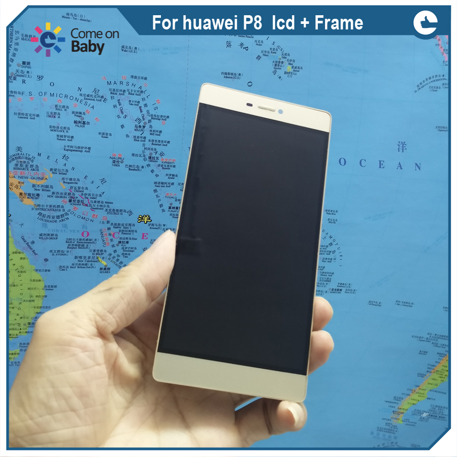 For huawei P8  lcd Frame