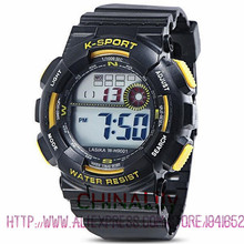 30M Water Proof Analog Digital Watch Electronic Rubber Band Alarm Sports Outdoors for Men Boy Waterproof  Sport Watches