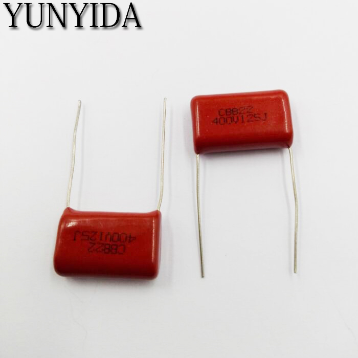 10pcs 0.022uF 223J 1600V 22NF CBB Metallized Film Capacitor P=20MM
