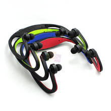 New Hot Sport MP3 Player earphone Wireless Headset Headphones Support Micro SD/TF Card+ FM Radio Free Shipping